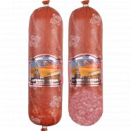 Колбаса варено-копченая «Кремлевская» салями в/с 1 к., фасовка 0.7-0.9 кг