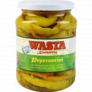 Перец пеперончини консервированный «Wasta» 610 г.