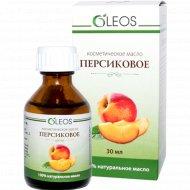 Масло косметическое «Oleos» персиковое, 30 мл.