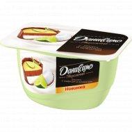 Продукт творожный «Даниссимо» пралине с лаймом и кокосом, 5.9%, 130 г.