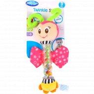 Развивающая игрушка «Бабочка» с цветными шариками.