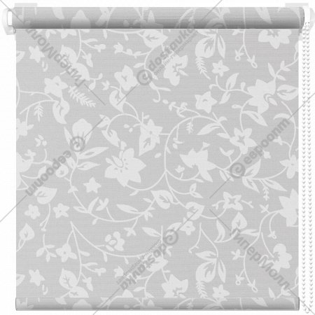Рулонная штора «АС Март» Весна, белый, 85х175 см