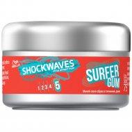 Воск для укладки волос «Wella» Shockwaves Surfer Gum, 75 мл.