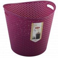 Корзина «My style», круглая фиолетовая, 37х39х39 см.