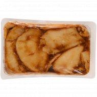 Рыба «Кальмар» филе в устричном соусе, мороженая, 1 кг., фасовка 0.43-0.53 кг
