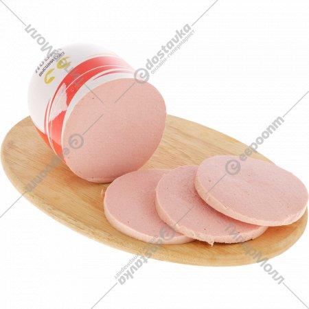 Колбаса вареная «Докторская новая» высшего сорта, 1 кг., фасовка 0.75-0.8 кг