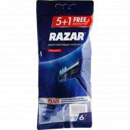 Бритва одноразовая «Razar Plus» для мужчин, 6 шт