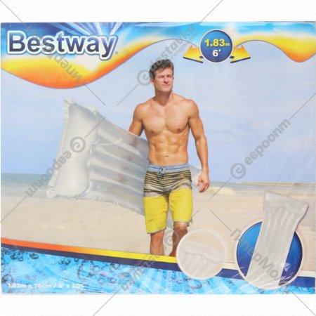 Матрас надувной «Bestway» Делюкс, 44013 BW, серый, 183х76 см