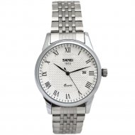 Наручные часы «Skmei» 9058CS, мужские, белые