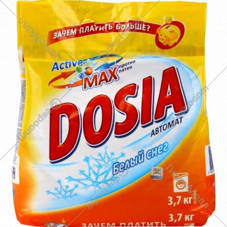 Порошок стиральный «ДОСЯ» автомат, Белый снег 3.7 кг.