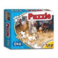 Пазл «Табун лошадей» 104 элемента.