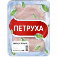 Филе цыпленка-бройлера «Петруха» замороженное 1 кг, фасовка 0.85-1.3 кг