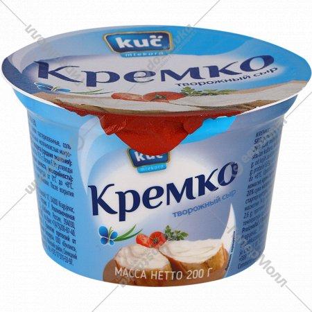 Сыр мягкий «Кремко творожный сыр» 45%, 200 г.