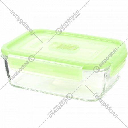 Контейнер «Purebox Active green» с пластмассовой крышкой, 820 мл.