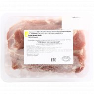 Шейная часть свиная охлаждённая, 1 кг., фасовка 0.9-1 кг