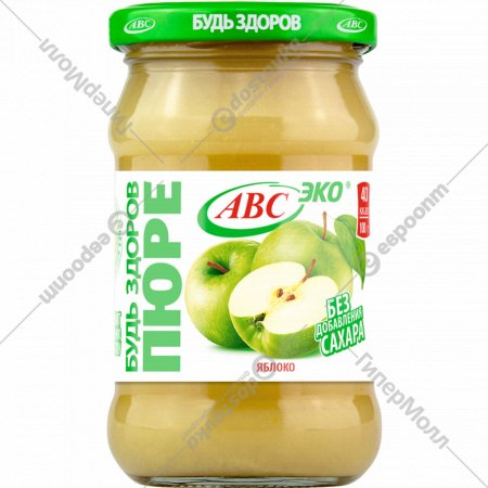 Пюре яблочное «Будь здоров» 280 г.