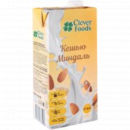 Напиток ореховый «Clever Foods» кешью миндаль, 1000 мл