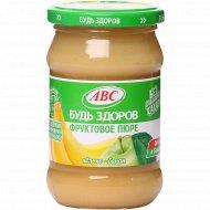 Пюре яблочно-банановое «Будь здоров» 280 г.