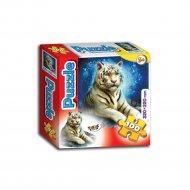 Пазл «Белый тигр» 100 элементов.