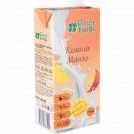 Напиток ореховый «Clever Foods» кешью манго, 1000 мл