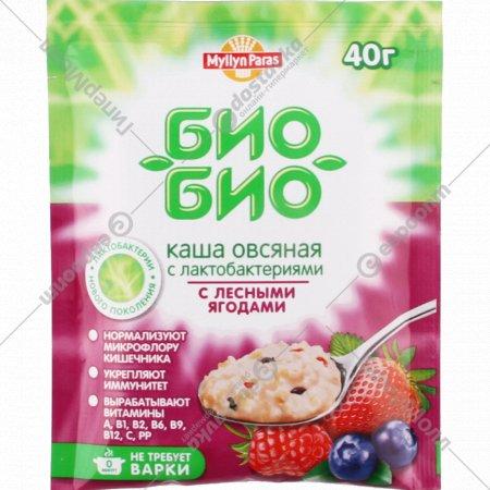 Каша овсяная «Myllyn Paras» с лесными ягодами, 40 г.