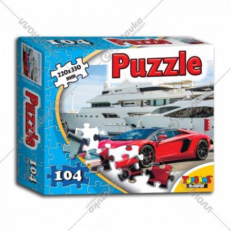 Пазл «Авто в порту» 104 элемента.