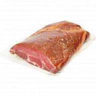 Пастрома из свинины «Коптильня гурмана» сырокпченая, 1 кг, фасовка 0.5-0 кг