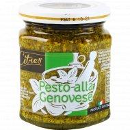 Соус на основе растительного масла «Pesto alla Genovese» 200 г.