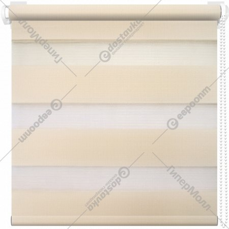 Рулонная штора «АС Март» Кентукки, светло-бежевый, 61х160 см