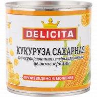 Кукуруза сахарная «Delicita» целыми зернами, 425 г