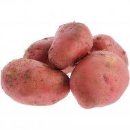 Картофель ранний, красный, 1 кг, фасовка 2.1-2.5 кг
