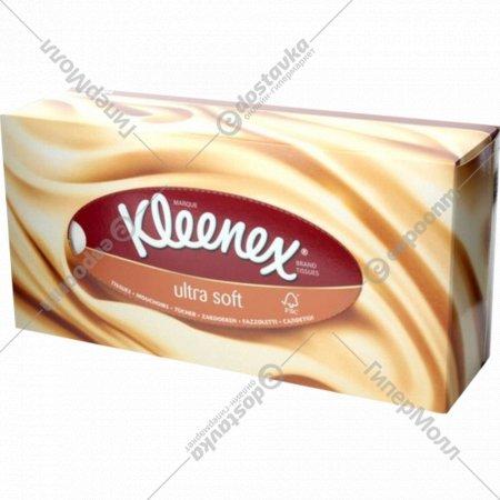 Салфетки «Kleenex Ultra Soft» бумажные, 56 шт.