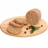 Продукт из мяса индейки «Зельц домашний» в желе, 1 кг., фасовка 0.5-0.65 кг