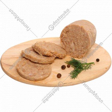 Продукт из мяса индейки «Зельц домашний» в желе, 1 кг., фасовка 0.34-0.44 кг