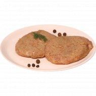 Полуфабрикат из мяса индейки «Котлета рубленая» замороженный, 1 кг., фасовка 0.2-0.22 кг