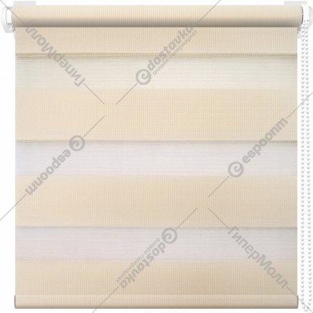 Рулонная штора «АС Март» Кентукки, светло-бежевый, 85х160 см