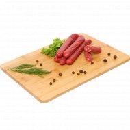 Колбаски из мяса индейки «Мини-салями» сыровяленые, 1 кг., фасовка 0.15-0.2 кг