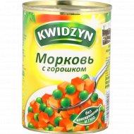 Морковь «Kwidzyn» с горошком, 400г.