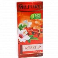 Чай фруктовый «Milford» шиповник, 20 пакетиков.