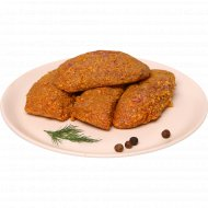 Полуфабрикат из мяса индейки «Биточки сочные» замороженный, 1 кг., фасовка 0.25-0.3 кг