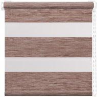 Рулонная штора «АС Март» Кентукки, светлый орех, 52х160 см