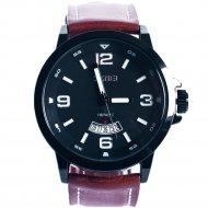 Наручные часы «Skmei» 9115CL, черно-коричневые