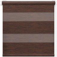 Рулонная штора «АС Март» Кентукки, темно-каштановый, 43х160 см