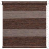 Рулонная штора «АС Март» Кентукки, темно-каштановый, 48х160 см