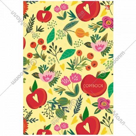 Тетрадь на кольцах «Цветущий сад» 100 листов.