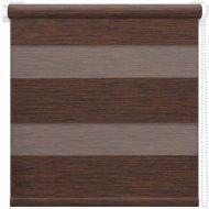Рулонная штора «АС Март» Кентукки, темно-каштановый, 52х160 см
