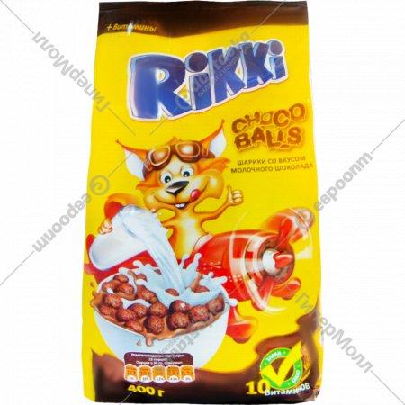 Шоколадные шарики «Rikki» со вкусом молочного шоколада 400 г.