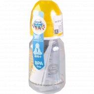 Бутылочка пластиковая 1 шт 120 мл.