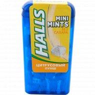 Конфеты без сахара «Halls» со вкусом цитрусовых фруктов, 12.5 г.