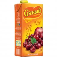 Напиток «Сочный витамин» яблоко-вишня 0.95 л.